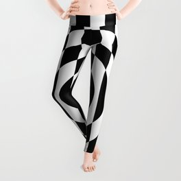 Hot Spot || Black & White Leggings