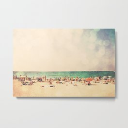 the soundtrack to summer  Metal Print
