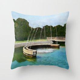 Levice Fountain Throw Pillow