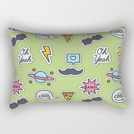 Party mix pattern Rectangular Pillow