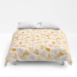 Ginko leaf pattern Comforters