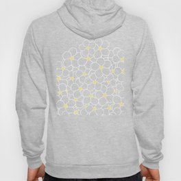 Forget Me Knot Blue Boarder Hoody