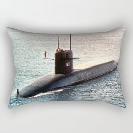 USS ULYSSES S. GRANT (SSBN-631) Rectangular Pillow
