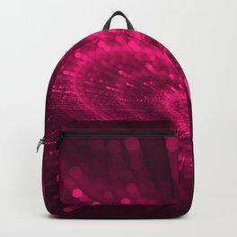 Purple Love Heart, Happy Valentine's Day Pattern Backpack