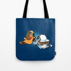 Daft Duck Tote Bag