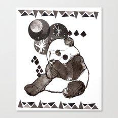 European Panda Canvas Print