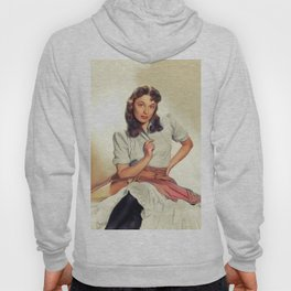Ruth Roman, Vintage Actress Hoody