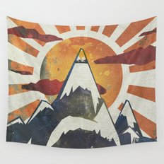 Mount Spitfire Wall Tapestry