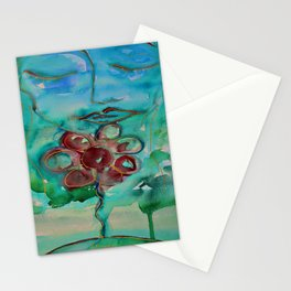 nuovo fiore Stationery Cards