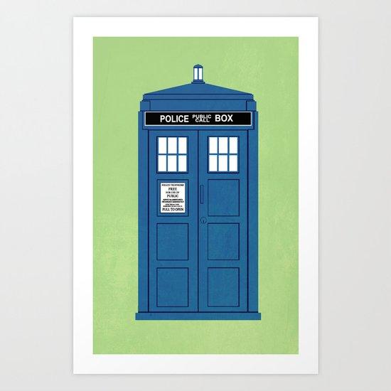 DOCTOR WHO. Art Print