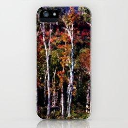 Birch Tapestry iPhone Case