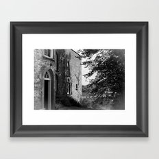 my little house in the Country Framed Art Print