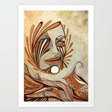 The Sea & The Sun Art Print