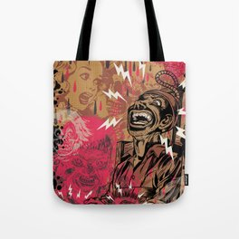 SHOCKING TERRORS Tote Bag