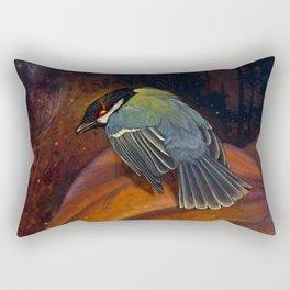 Halloween bird titmouse Rectangular Pillow
