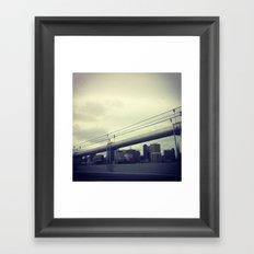 on.line Framed Art Print