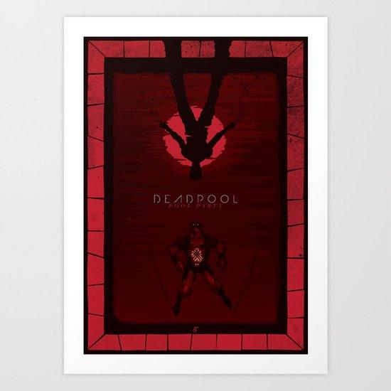 Deadpool - Pool Party Art Print
