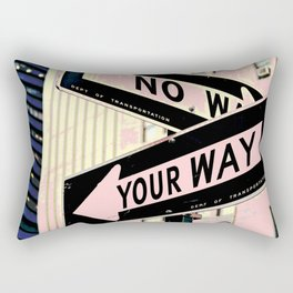 Your Way Rectangular Pillow