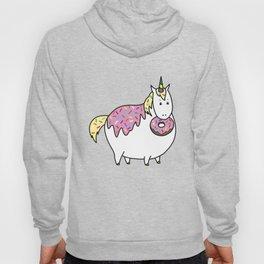 Chubby Unicorn With Colorful Doughnut Sprinkles Hoody