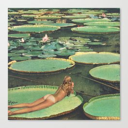 LILY POND LANE Canvas Print