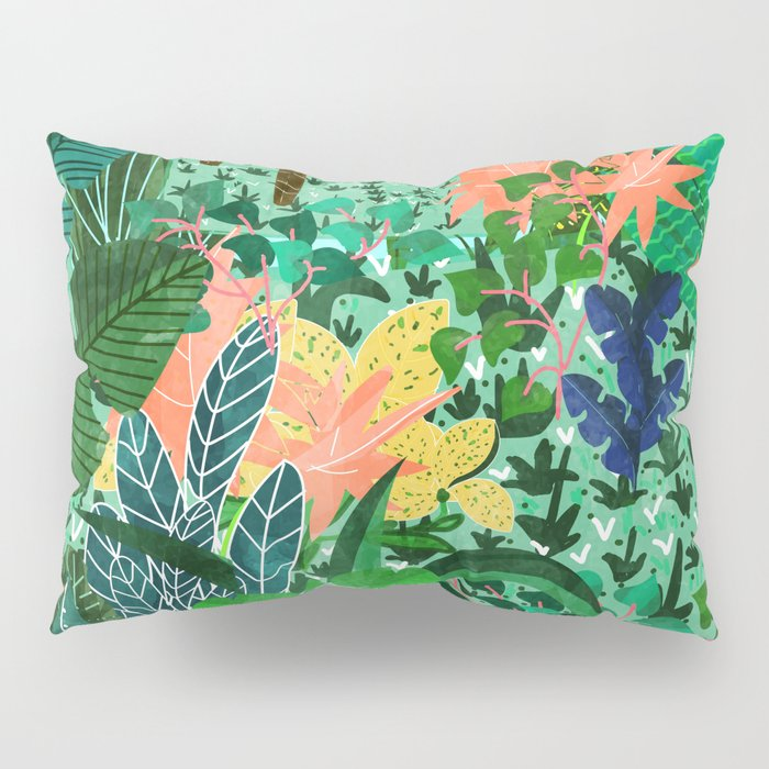 Dense Forest Pillow Sham
