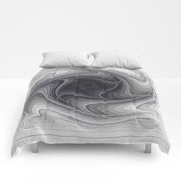 Sinkhole Monochrome Comforters