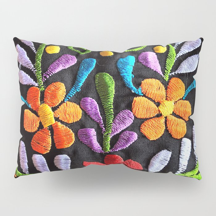 Mexican Flowers Pillow Sham