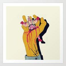 You botched it! You botched it! Art Print