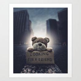 Teddy 1 Art Print