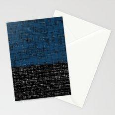 platno (blue) Stationery Cards