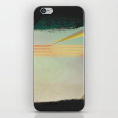 go away, black clouds iPhone & iPod Skin