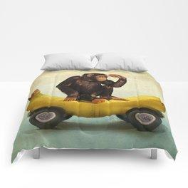 Chimp my Ride Comforters