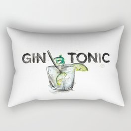 Favourite Things - Gin and Tonic Rectangular Pillow