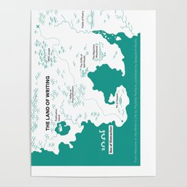 The Land of Writing Poster