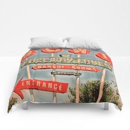 Freeway Lanes Bowl - Selma, CA Comforters