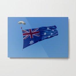 Aussie Flag Metal Print