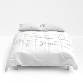 Mathspace - High Math Inspiration - Inverted Color Comforters