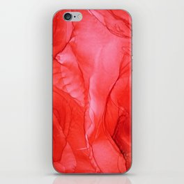 All Red iPhone Skin