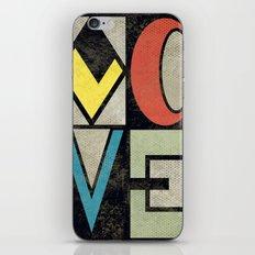 LOVE II iPhone & iPod Skin