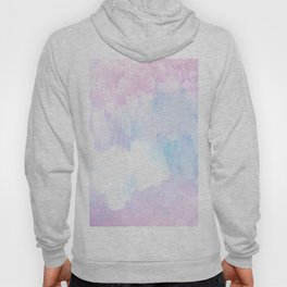 Sky Fall Dream Pastel Glitch - pink and blue Hoody