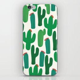 Cactus II Print iPhone Skin