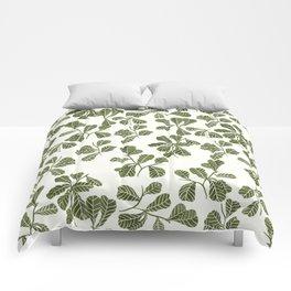 Fig Leaf Pattern Comforters