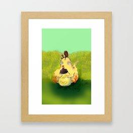 Chicken Skin Framed Art Print