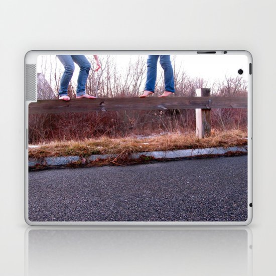 I Get By with a Little Help From My Friends Laptop & iPad Skin