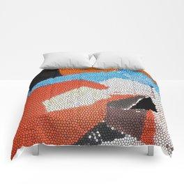 Cubist Mosaic Comforters