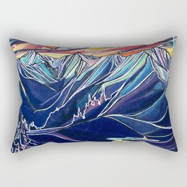 Silvercup Ridge, BC Rectangular Pillow