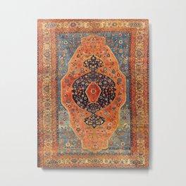 Northwest Persian Antique Carpet Print Metal Print