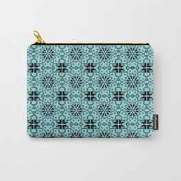 Island Paradise Star Geometric Carry-All Pouch
