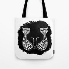 Cats Of Inversion - Digital Work Tote Bag