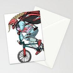 Extream biker Stationery Cards